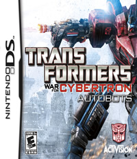 Transformers: War for Cybertron Autobots - NDS Boxart