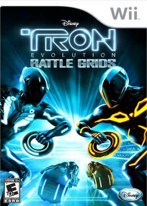 TRON: Evolution - Battle Grids Boxart