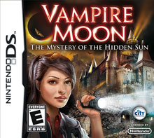 Vampire Moon: The Mystery of the Hidden Sun - NDS Boxart