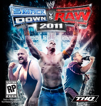 WWE Smackdown vs. Raw 2011 Boxart