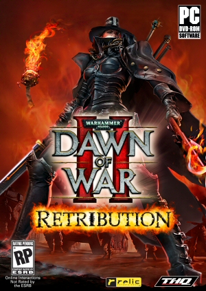 Warhammer 40,000: Dawn of War II - Retribution Boxart