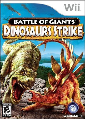 Battle of Giants Dinosaurs Strike Boxart