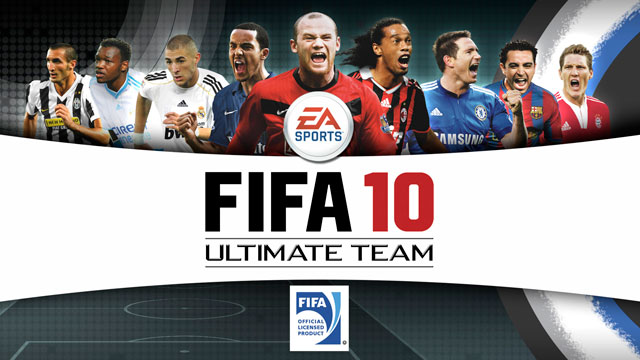 FIFA 10 Ultimate Team Boxart