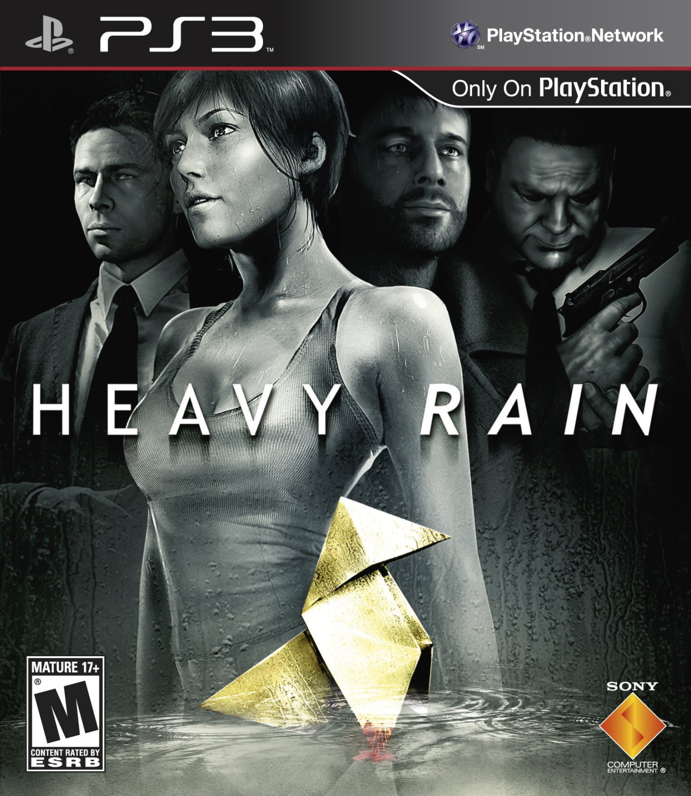 Heavy Rain: The Origami Killer Boxart