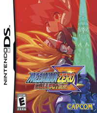 Mega Man ZERO Collection - NDS Boxart