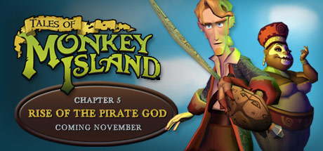 Tales of Monkey Island Chapter 5: Rise of the Pirate God Boxart