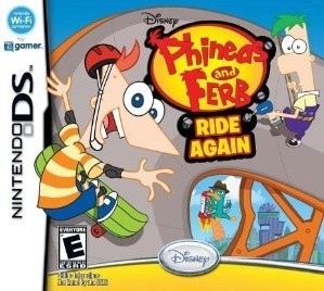Phineas and Ferb: Ride Again - NDS Boxart