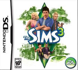 The Sims 3 - NDS Boxart