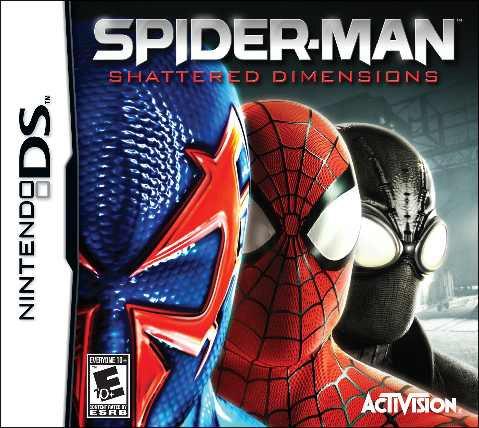 Spider-Man: Shattered Dimensions - NDS Boxart