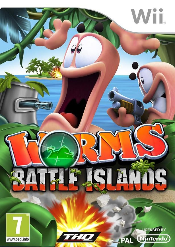 Worms: Battle Island Boxart