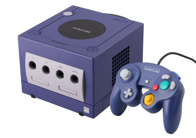 Purple Nintendo Gamecube