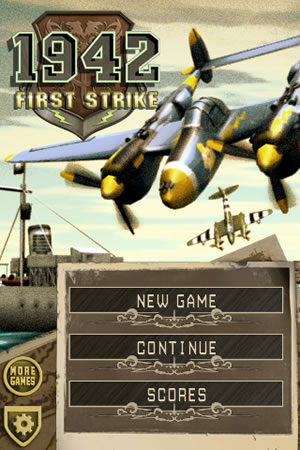 1942: First Strike - MB Boxart