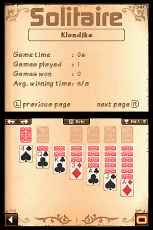 24/7 Solitaire - NDS Image