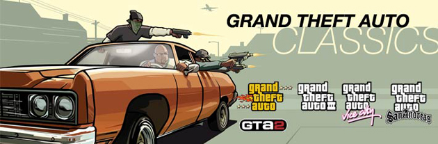 Grand Theft Auto Classics Collection Boxart