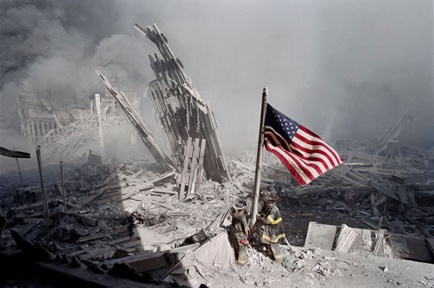 9/11 Firefighters flag