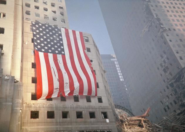 9/11 Amererican flag