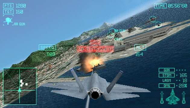 Ace Combat Joint Assault Screenshot - 795477
