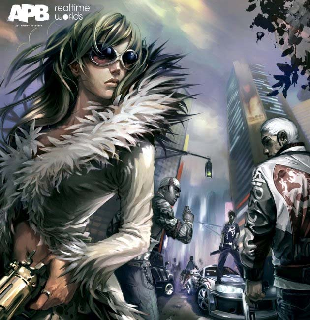 All Points Bulletin (APB) Boxart