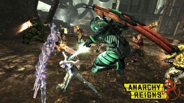Anarchy Reigns Screenshot - 868253