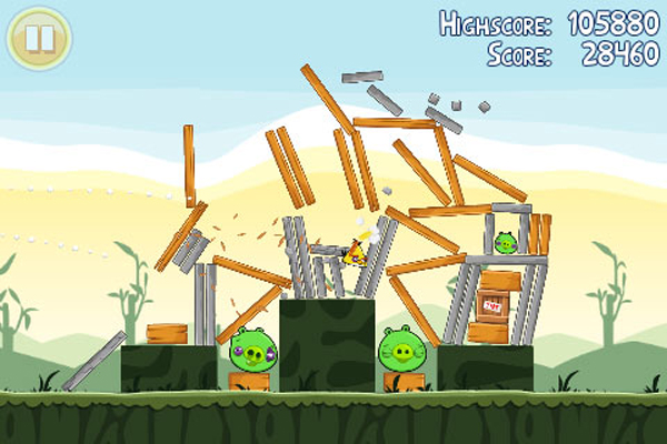 Angry Birds Screenshot - 821287