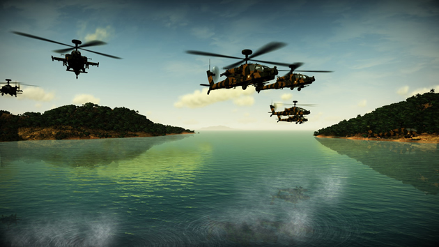 Apache: Air Assault - Feature
