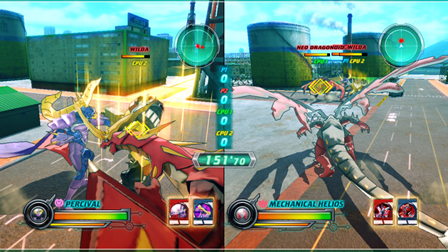 Bakugan Battle Brawlers: Defenders of the Core - NDS Screenshot - 740796