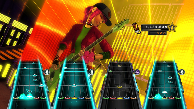 Band Hero Screenshot - 867115