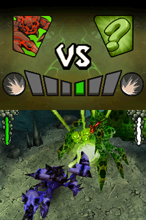 Battle of Giants: Mutant Insects – Revenge - NDS Image