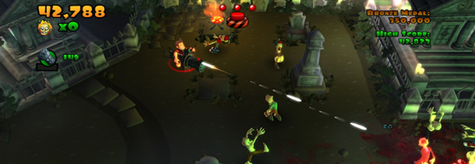 Burn Zombie Burn! Screenshot - 799287