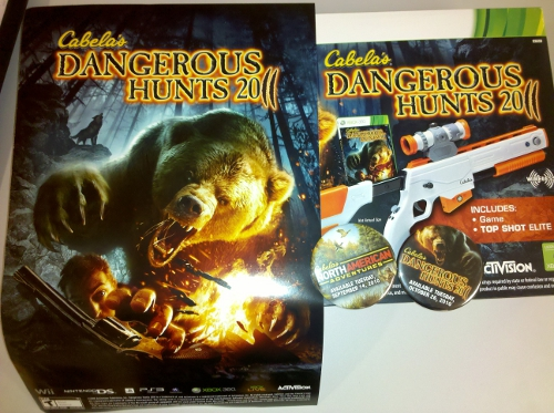 Cabela's Dangerous Hunts 2011 with Top Shot Elite Gun