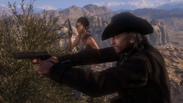 Call of Juarez the cartel screenshot