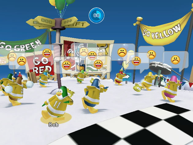 Club Penguin Game Day! Image