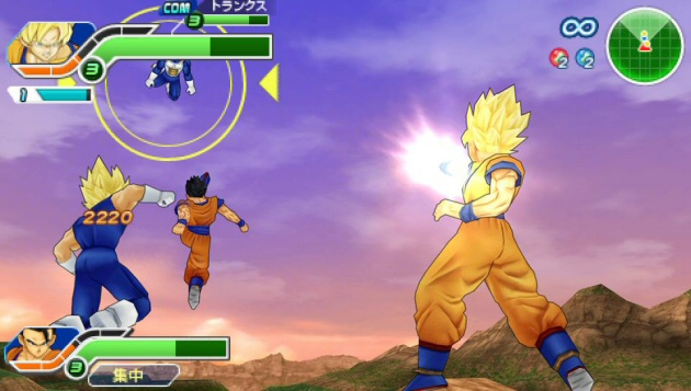 Dragon Ball Z: Tenkaichi Tag Team Screenshot - 867638