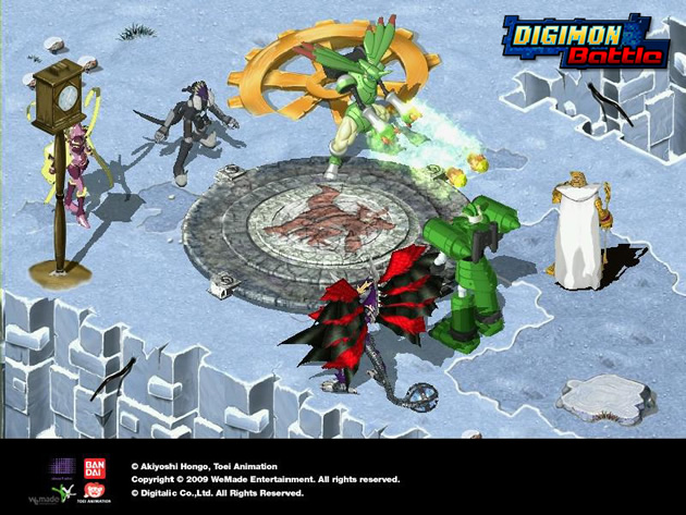 Digimon Battle - Feature