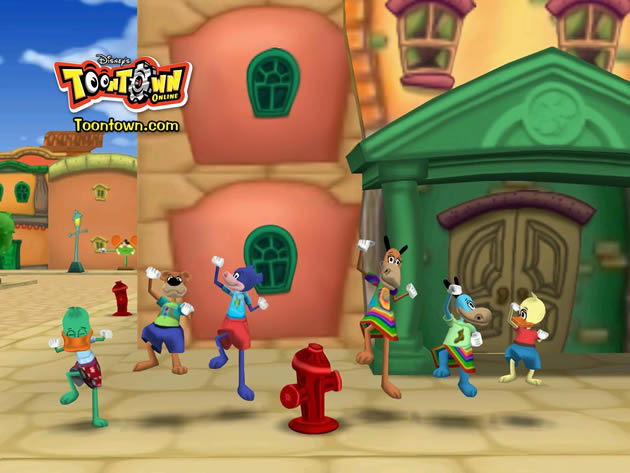 Disney&#x27;s Toontown Online Image