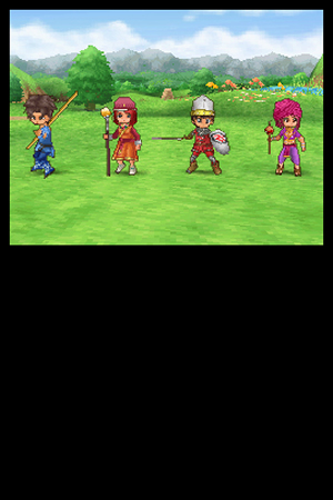 Dragon Quest IX: Sentinels of the Starry Skies - NDS