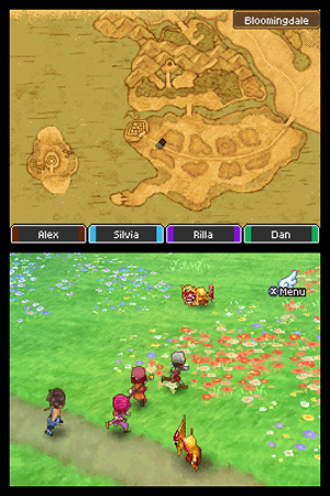 Dragon Quest IX: Sentinels of the Starry Skies - NDS Image