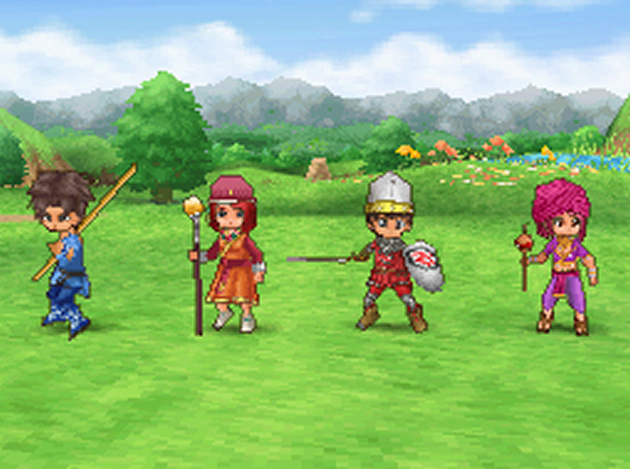 Dragon Quest IX: Sentinels of the Starry Skies - NDS Screenshot - 867380