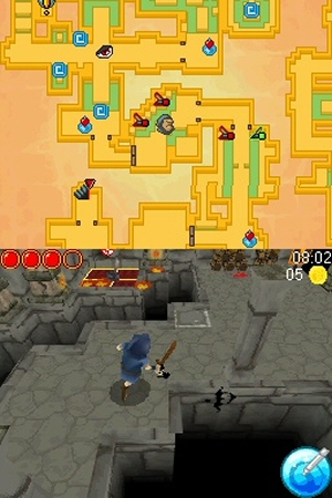 Dungeon Raiders - NDS Image