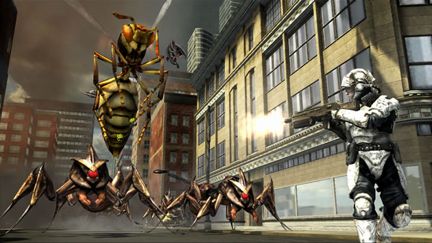 Earth Defense Force: Insect Armageddon Screenshot - 868614