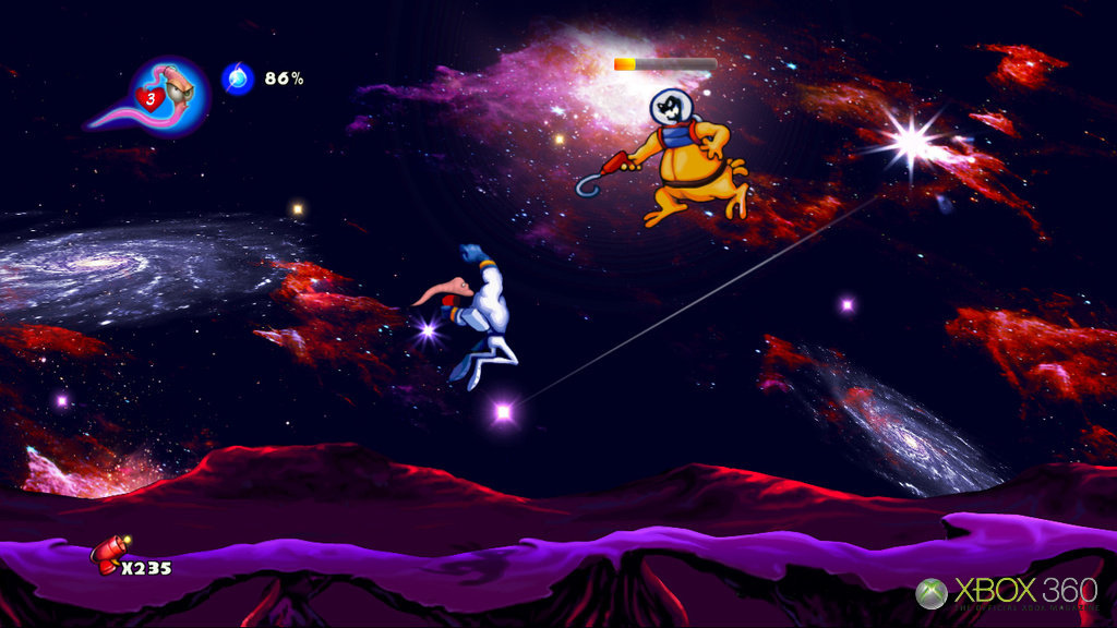 Earthworm Jim HD - Feature