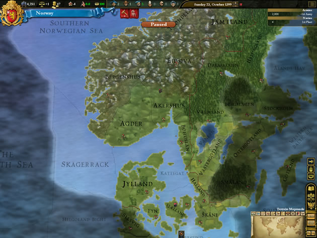 Europa Universalis III: Divine Wind Image