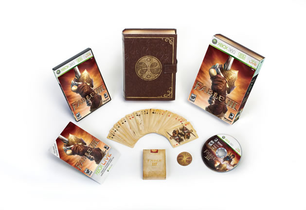Fable III: Limited Collector's Edition Boxart