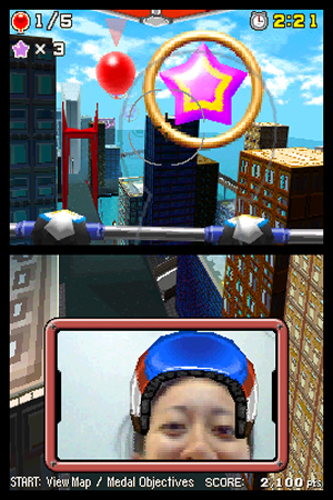 Face Pilot: Fly With Your Nintendo DSi Camera! Image