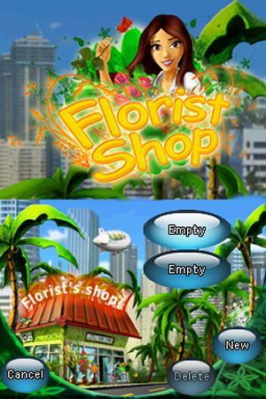 Florist Shop - NDS Boxart