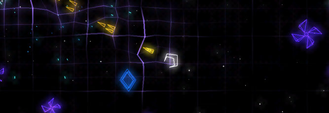 Geometry Wars Touch - IP - Feature