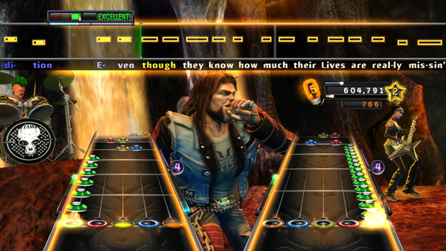 Guitar Hero: Warriors of Rock - Feature