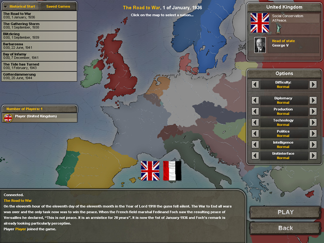 Hearts of Iron 3 - Feature