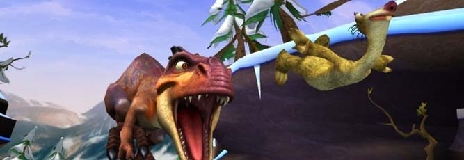 Ice Age: Dawn of Dinosaurs Boxart
