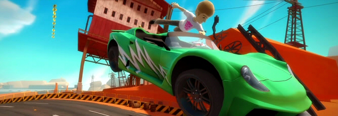 Kinect Joy Ride Screenshot - 821032